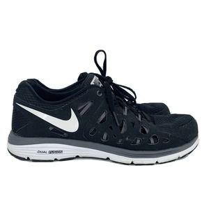 Nike Dual Fusion Run 2 Black & White Sneakers